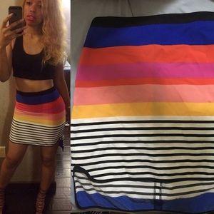 Multicolored Asos Skirt