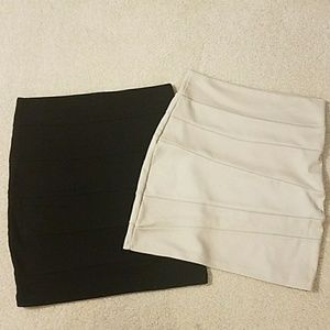Bundle of Two Bandage Skirts