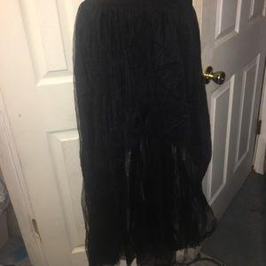 Dresses & Skirts - High low tulle skirt