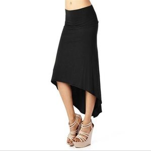 Dresses & Skirts - High low black skirt