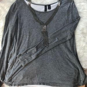 Super Feminine Cynthia Rowley Split Back Tee