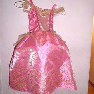 Disney Sleeping Beauty Costume w/ Hoop Skirt