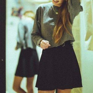[Maude] skater jersey skirt size Small