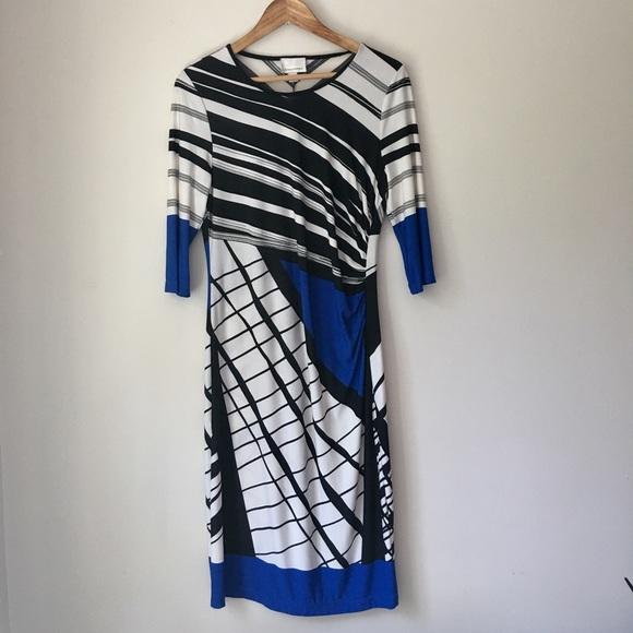 Donna Morgan Dresses & Skirts - Donna Morgan Graphic Print Stretch Dress