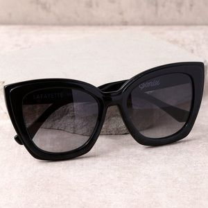 Sonix Lafayette Sunglasses in Black