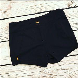 Lucy Black Yoga Shorts Size Medium