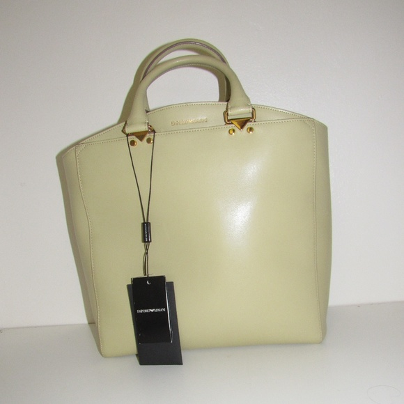 0c891b81a588 Emporio Armani Palmellato Calf Leather bag