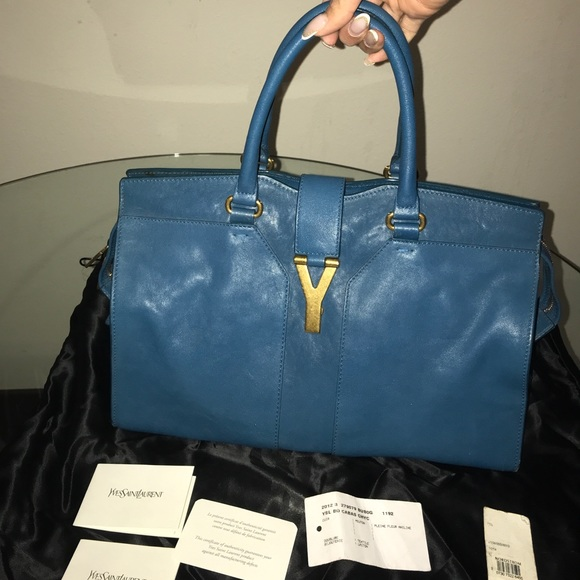 3177b0742b2c YSL BO CABAS CHYC tote. M 5a053734bf6df58bd706976c. Other Bags you may  like. Yves Saint Laurent medium ...