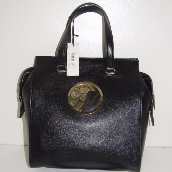 8b4325ffebe1 Limited Versace Capra Lucida Handbag. NWT. Versace Collection.  750  2000.  Size
