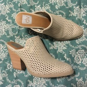 Dolce Vita Perforated Mule