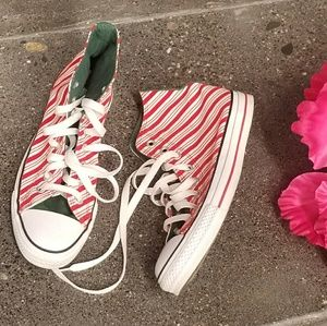 Converse Shoes - Converse Candy Cane High Tops