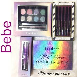 Bebe 3 piece set & 1 Adrienne Vittadini eyeliner