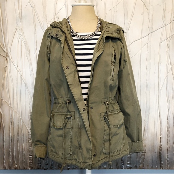 7e308fbb315 H&M Divided Army Green Utility Jacket - XS