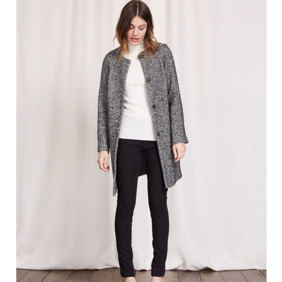 Boden Jackets Coats Sienna Herringbone Coat 12r We554 Poshmark