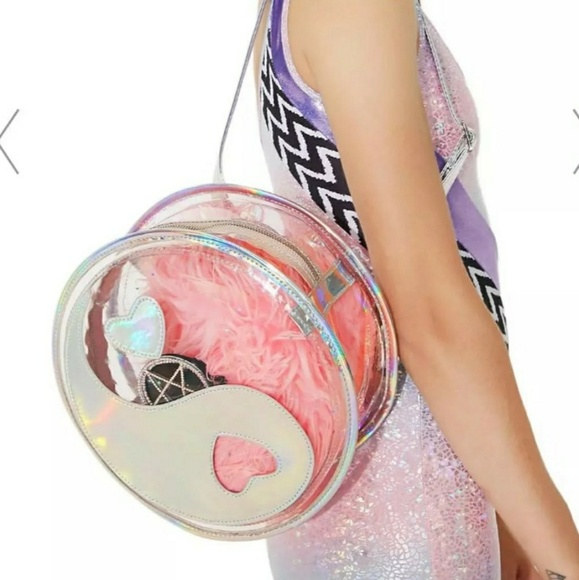 b40432fa93 Handbags - Yin yang holographic backpack