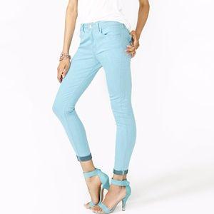 Nasty Gal Blue Sky High Skinny Jeans / 27