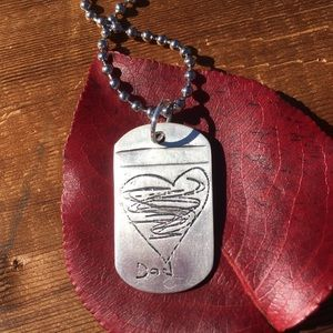 Jewelry - Dog tag necklace