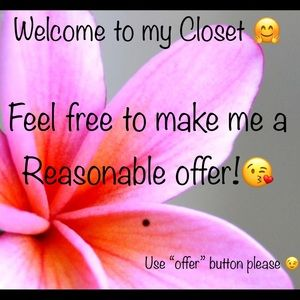 Offers welcomed 👌