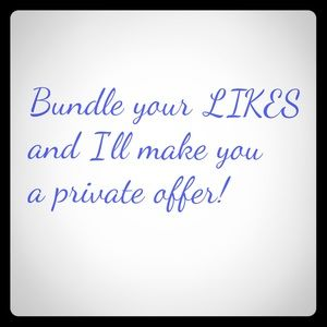 Other - 💕Bundle Your Likes💕
