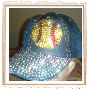 Accessories - Baseball bling cap
