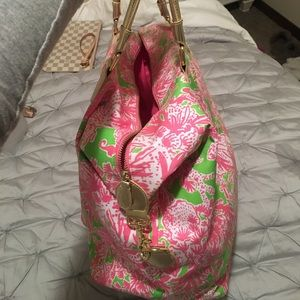 Lilly Pulitzer Bags - Lilly Pulitzer Overnight Bag