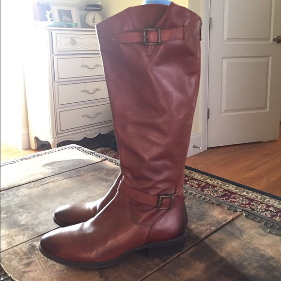 45c7abb84dd13 Sam Edelman Painter Style Leather Riding Boots. M 5a059c897f0a054a210736be