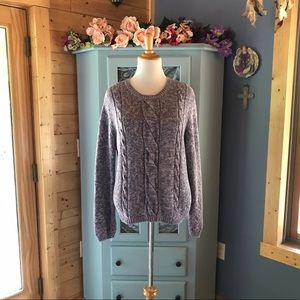 Sweaters - Beautiful CableKnit Sweater. Super SOFT & WARM