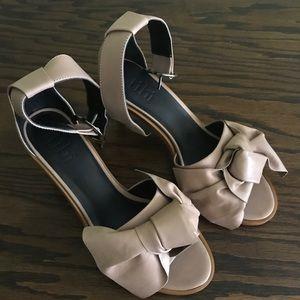 TIBI Desmond nude sandal 38.5 new in box