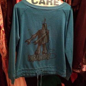 Hot topic paramore sweatshirt