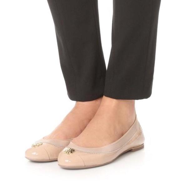3165ef871d8 Tory Burch Jolie Ballet Flats - Light Oak -size 7