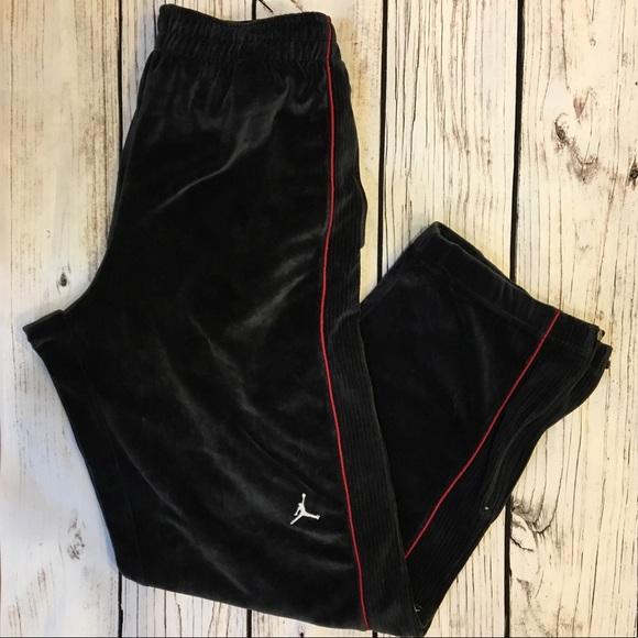 Jordan Velour 9s Jogger Suit Pants Xl