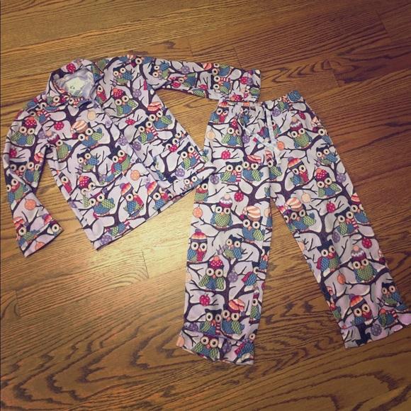 a6b7b43be531 Target Nick   Nora girls pajamas set owls M 7 8. M 5a05c08fa88e7d239707be2d