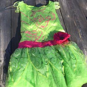 Girls tinker bell costume