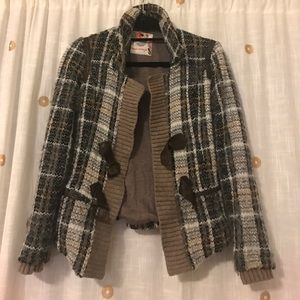 Free people Bouche blazer with buckle detail