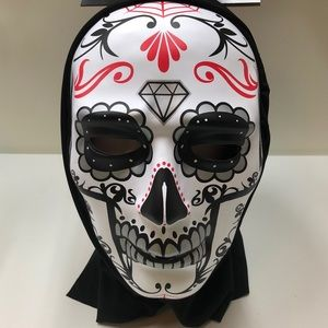 ❗️❗️SOLD ❗️❗️Day of the Dead Skull Mask Hood