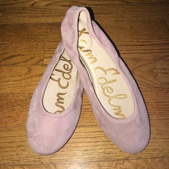 438c8799a77b63 Sam Edelman Fritz pink suede ballet flats 7.5. M 5a05c9e578b31cb11007d387