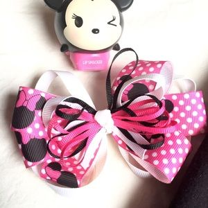 🎉HP🎉🎀Minnie Mouse Hair Clip Bow🎀