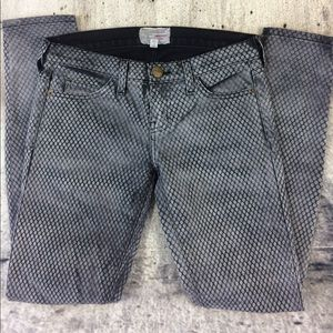 Anthropologie Current Elliott ankle skinny jeans