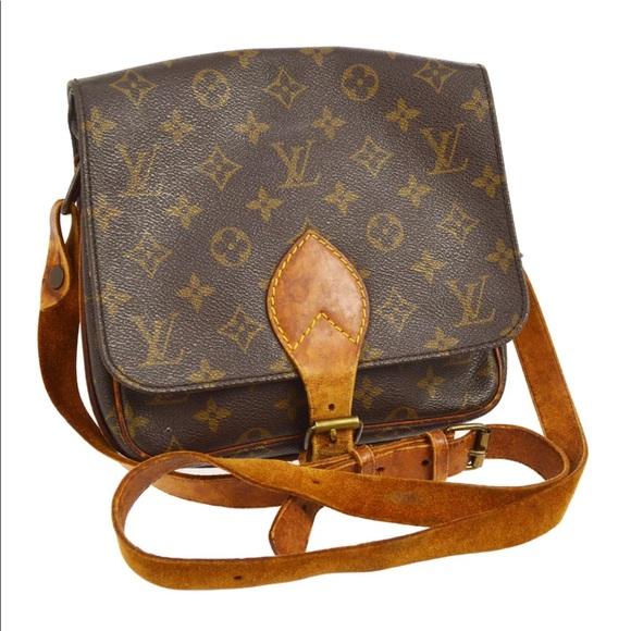 9017914db293 Louis Vuitton Handbags - Authentic Louis Vuitton Cartouchiere MM CROSSBODY