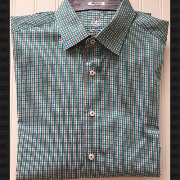 350a5814 Bugatchi Other - 🇮🇹 BUGATCHI Uomo Men's Long Sleeve Shirt L 🇮🇹