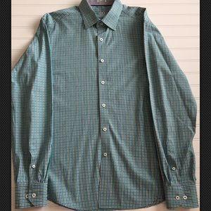1868c1e1 Bugatchi Shirts - 🇮🇹 BUGATCHI Uomo Men's Long Sleeve Shirt L 🇮🇹