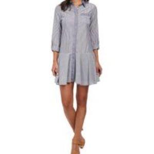 Sam Edelman drop waist Shirtdress S
