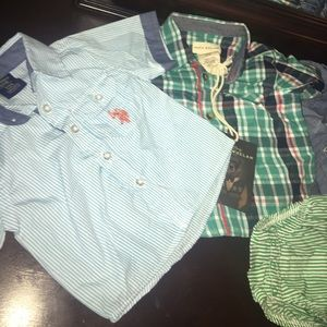 Other - Baby collar shirts