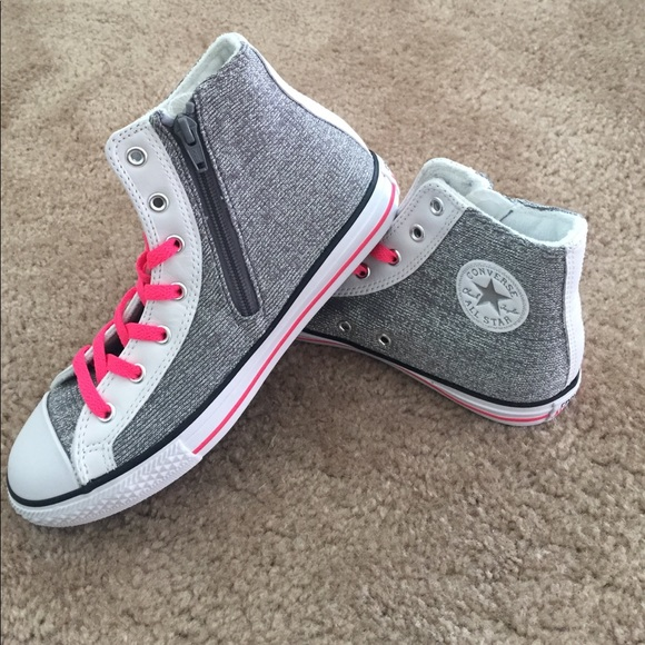 99d979c1497f Converse Shoes - Converse All Star Chuck Taylors-Silver