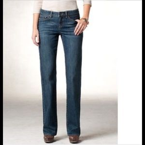 Coldwater Creek River Fit Bootcut jeans