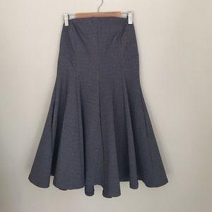 Lulu's Heather Blue Stretch Strapless Dress Size M