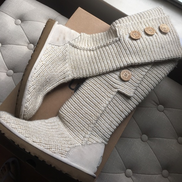 UGG Shoes   Thanksgiving Sale Authentic Knit Tall Boots   Poshmark 175f983baf