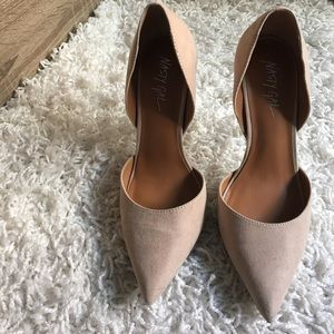 Nasty Gal- beige pumps