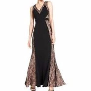 NWT JS Collections Lace Panel Dress Sz 6