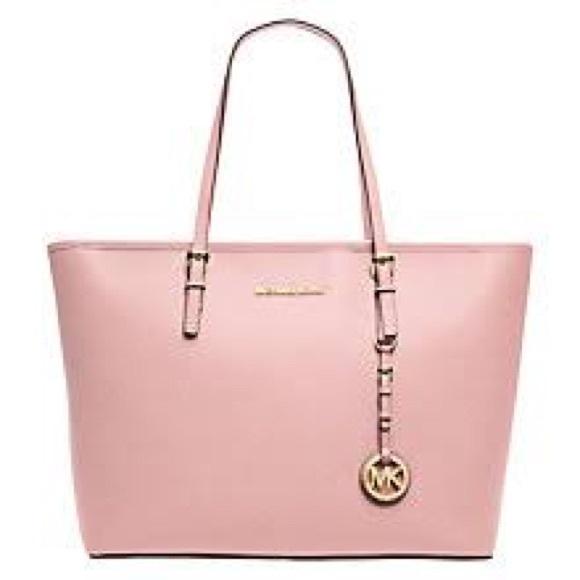 20edb90df5dadf Michael Kors Bags | Baby Pink Mk Tote | Poshmark